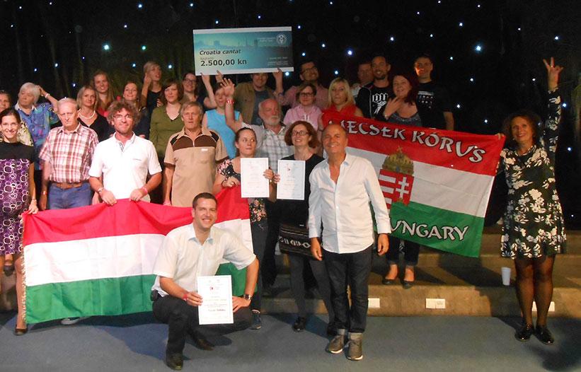 Prizes at the Croatia Cantat Festival